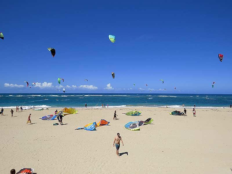 kiteboarding kitebeach cabarete
